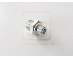 Nypel pompy hydraulicznej - minikoparka 1,5T JCB