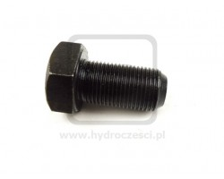 Śruba regulacyjna ślizgu ramienia - JCB 3CX 4CX - Drobny Gwint