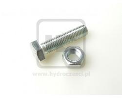 Śruba z nakrętką do zęba Minikoparki JCB