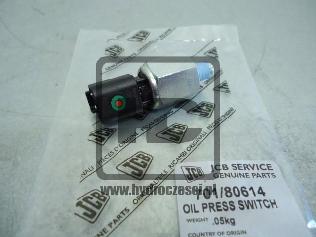 Czujnik ciśnienia oleju - wkręcany przy filtrze - 701/80614