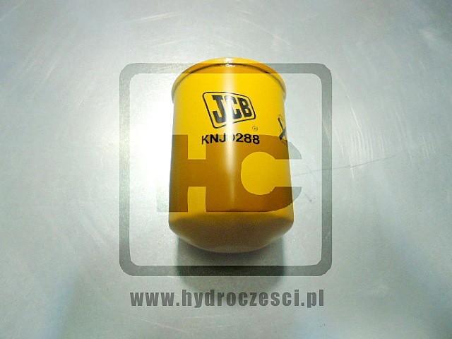 Filtr hydrauliczny (drain line) - koparki JCB - KNJ0288