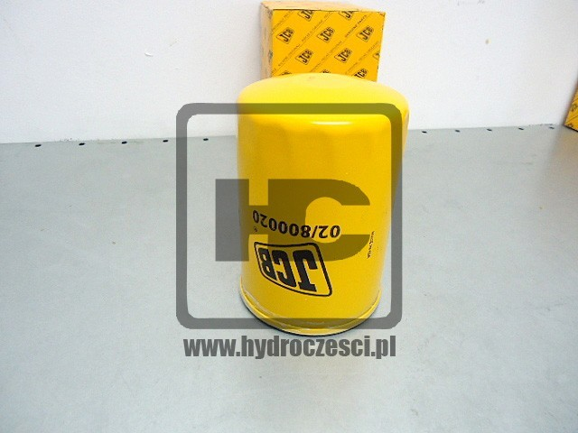 Filtr oleju silnikowego - koparka JCB JS