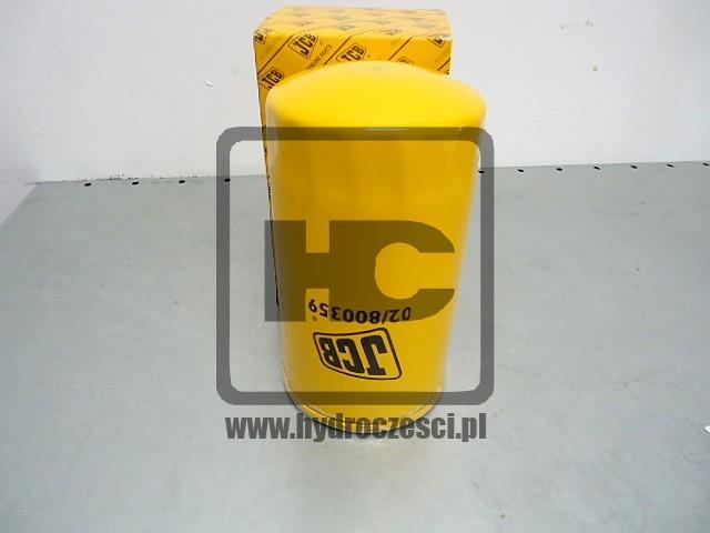 Filtr oleju silnikowego - koparka JCB JS - 02/800359