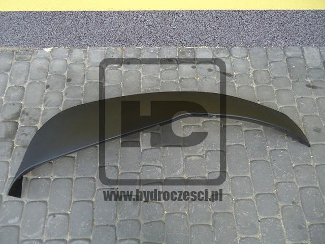 Oryginalny czarny błotnik JCB 3CX 4CX - lewa strona - 332/D4971