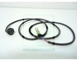 Przycisk z kablem do gałki lewarka - maszyny JCB - 701/42600