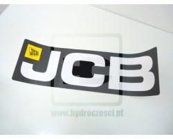 Oryginalna naklejka pozioma do JCB 3CX 4CX - Nowe Logo