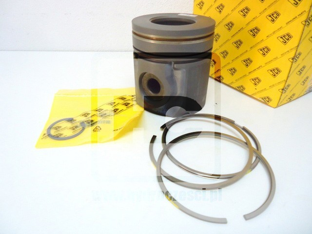 Tłok kompletny - Nominał - Silnik Turbo JCB DieselMax - 320/09249