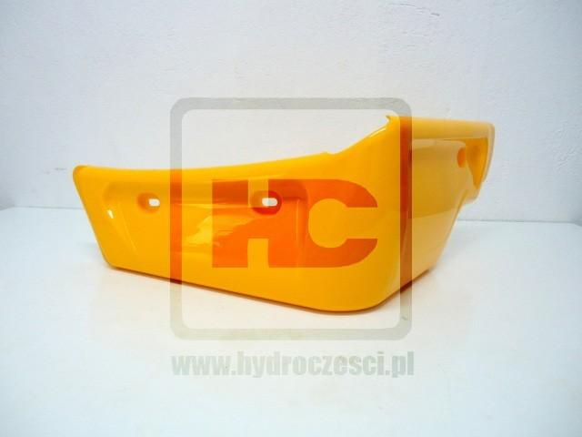 Prawy narożnik plastikowy kabiny 3CX 4CX - Żółty - 331/37825