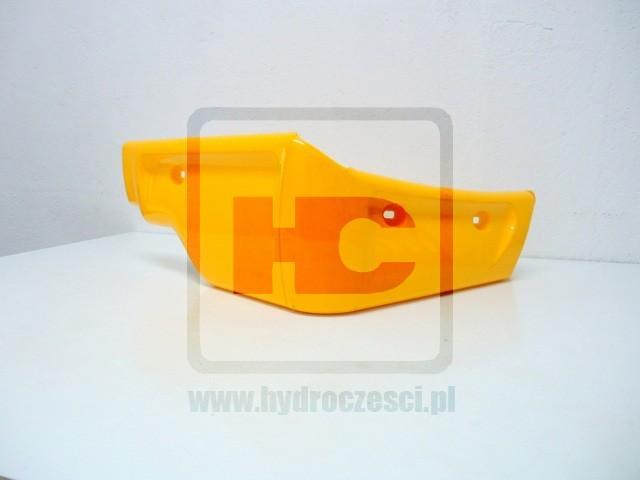 Lewy narożnik plastikowy kabiny 3CX 4CX - Żółty