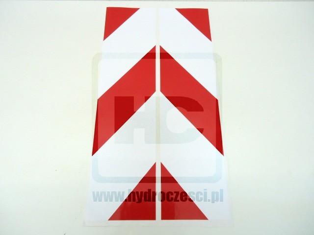 Naklejka na stabilizator czerwona 3CX , 4CX - 817/03401