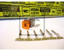 Wtyczka do kabli - 6 pinów - Żeńska