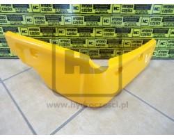 Osłona, Narożnik Plastikowy Kabiny - Lewy - JCB 3CX 4CX P21 - Żółta