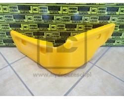 Osłona, Narożnik Plastikowy Kabiny - Prawy - JCB 3CX 4CX P21 - Żółta