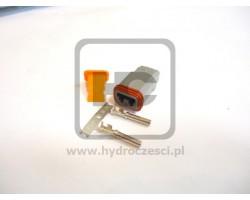 Wtyczka do kabli - 2 Piny - Żeńska