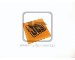 Przyklejana plakietka z logo JCB - Zamiennik