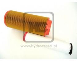 Komplet filtrów powietrza - Silnik Perkins - JCB 3CX 4CX 1997-2005