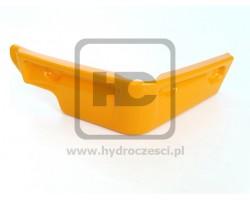 Osłona, Narożnik Plastikowy Kabiny - Lewy - JCB 3CX 4CX P12