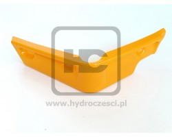 Osłona, Narożnik Plastikowy Kabiny - Prawy - JCB 3CX 4CX P12