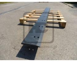 Lemiesz do przedniej łyżki JCB 4CX - 245 cm - HARDOX