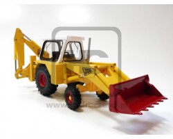 Model JCB 3C MARK III w skali 1:32 - Zabawka