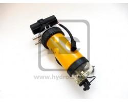 Odstojnik paliwa (separator) z pompką elektryczną - silnik JCB - Zamiennik