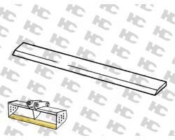 Lemiesz do łyżki skarpowej JCB 3CX - 1515 mm - HARDOX