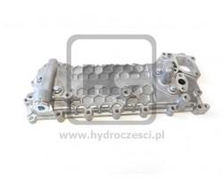 Chłodnica oleju silnikowego z obudową - JCB ISUZU 4HK1 - OEM